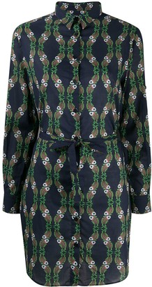 Vilebrequin Voile Sweet Fishes shirt dress