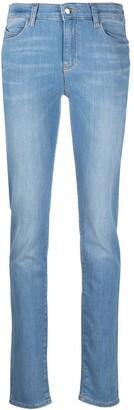 Emporio Armani Light Wash Skinny Jeans