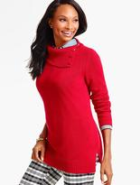 Talbots Split-Neck Pullover Sweater