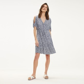 Tommy Hilfiger V-Neck Print Dress