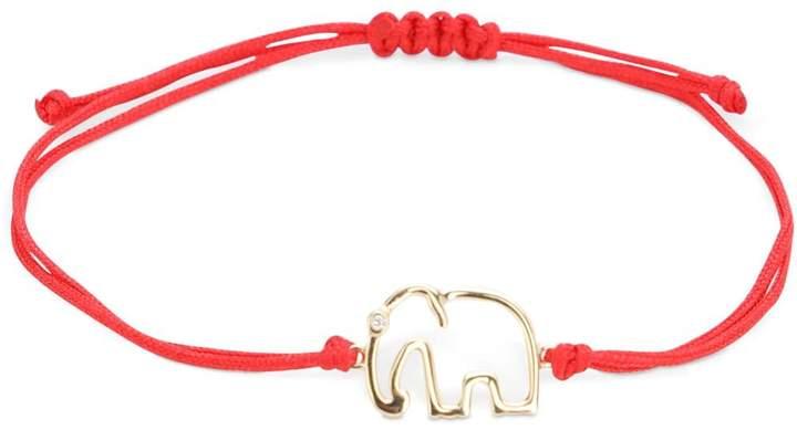 Leon Yvonne Paris 9KT ELEPHANT ADJUSTABLE BRACELET