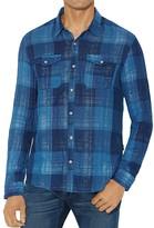 John Varvatos Western-Style Slim Fit Button-Down Shirt