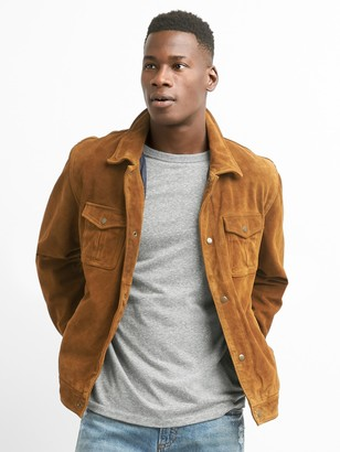 Gap Suede Shirt Jacket