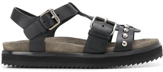 Church's Strappy Studded Leather Sandals