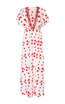 Giambattista Valli Macram Floral Maxi Dress
