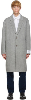 Études Grey Wool Archeology Coat