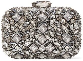 Jimmy Choo Crystal-Embellished Cloud Clutch Bag