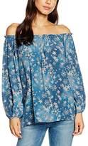 True Religion Women's Carmen Star Cold Dyed Original Blouse
