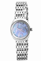 Jowissa Women's J4.095.M Como Stainless Steel Mother-Of-Pearl Dial Polished Bracelet Watch