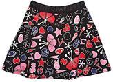 Kenzo Logo & Graphic-Print Cotton French Terry Miniskirt