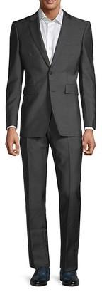 Burberry 2-Piece Wool-Blend Standard-Fit Suit Jacket & Pants Set