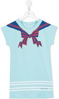 Little Marc Jacobs bow print T-shirt dress - kids - Cotton/Spandex/Elastane/Viscose - 4 yrs