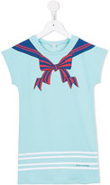 Little Marc Jacobs bow print T-shirt dress