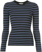 Michael Kors multi-stripe jersey top