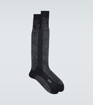 Tom Ford Cotton knee-length socks
