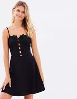 Miss Selfridge Cornelli Mesh Skater Dress