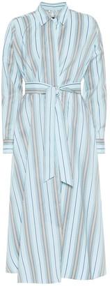 Loro Piana Caelie striped cotton dress