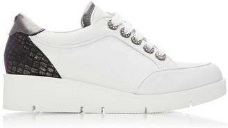 Moda In Pelle Birrin White - Pewter Leather