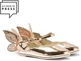 Sophia Webster Mini Chiara Mini Rose Gold Butterfly Shoes