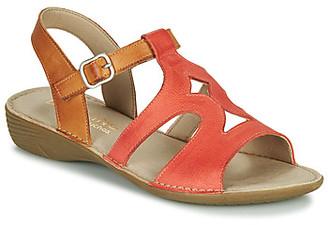 Dorking ODA women's Sandals in Red