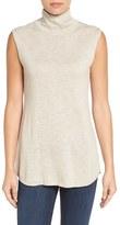 Nic+Zoe Women's Turtleneck Cotton Blend Sweater