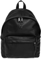 Eastpak 24l Padded Pak'r Leather Backpack