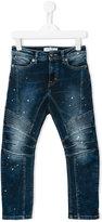 John Galliano regular jeans - kids - Cotton/Polyester/Spandex/Elastane - 12 yrs