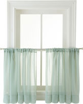 Martha Stewart MarthaWindowTM Voile Rod-Pocket Window Tiers