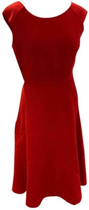 Celine Red Wool Dresses