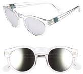 Westward Leaning Women's 'Voyager' 48Mm Sunglasses - Blonde Tortoise Shiny/ Silver