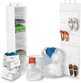 Honey-Can-Do White Back to School Home Organization Kit