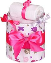 T-TOMI Diaper Cake, Small, Snail
