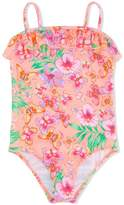 Sunuva tropical butterfly print swimsuit