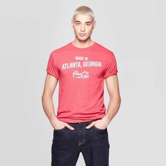 Coca Cola Men's Coca-Cola Short Sleeve Crewneck Graphic T-Shirt - Coca-Cola