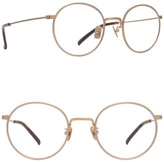 Diff Eyewear Daisy 51mm Round Blue Light Blocking Glasses