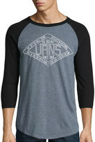 Vans 3/4 Sleeve Crew Neck T-Shirt