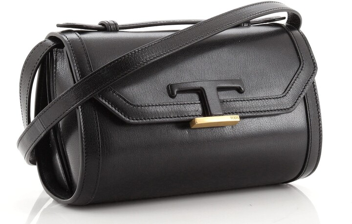 Thumbnail for your product : Tod's T Timeless Crossbody Bag Leather Mini