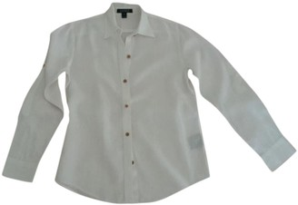 Lauren Ralph Lauren White Linen Top for Women