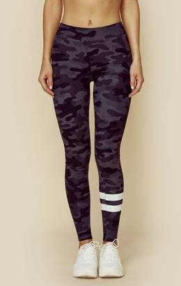 Sundry CAMO YOGA PANT STRIPES
