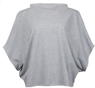 Malaika New York Hexagon Organic Cotton T-Shirt Grey