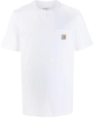 Carhartt WIP logo pocket T-shirt