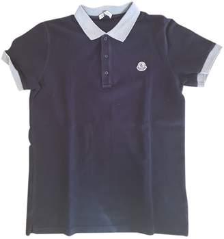 Moncler Black Cotton Tops