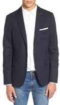 Scotch & Soda Men's Extra Trim Fit Pattern Blazer