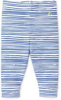 Petit Bateau Baby boy irregularly striped leggings