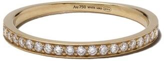 White Bird 18kt yellow gold diamond Ella ring