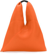 MM6 MAISON MARGIELA perforated triangle tote - women - Leather/Polyester - One Size