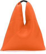 MM6 MAISON MARGIELA perforated triangle tote