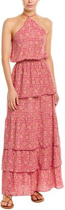 Tessora Violetta Silk Maxi Dress