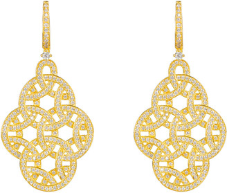 Latelita Celtic Knot Aoife Drop Earring Gold