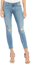 Levi's 535 Destructed Stretch Pin Styled Super Skinny Jeans